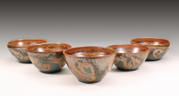 Stoneware bowl set (1/2)
